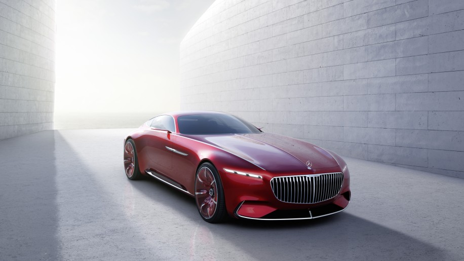 Vision Mercedes Maybach 6 front 3/4