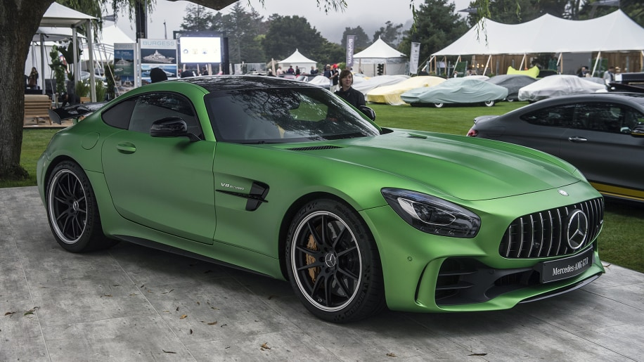 2018 Mercedes-AMG GT R makes US debut looking hellish in ...