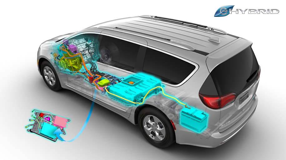 2017 Chrysler Pacifica Hybrid diagram