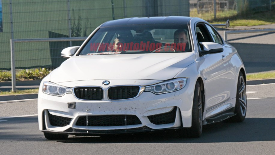 BMW M4 With Extreme Aero Spy Shots Front End Exterior