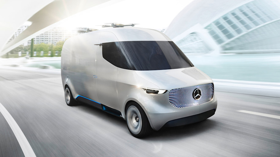 Mercedes-Benz Vision Van front right 3/4 1