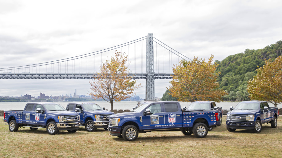 Ford F-Series NFL Sponsorship Side Exterior