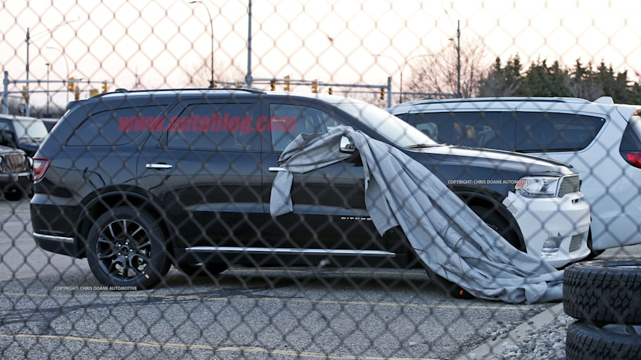 2018 Dodge Durango SRT Spy Shots Side Exterior