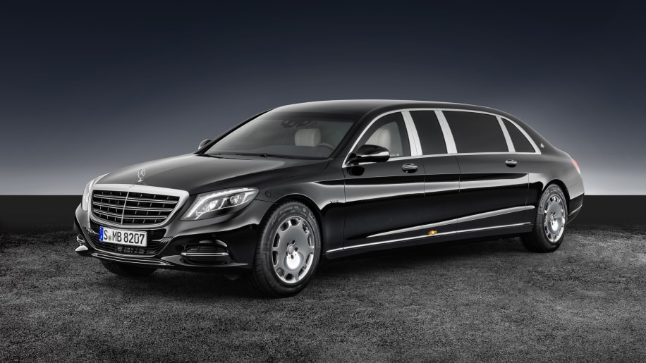 2017 Mercedes-Maybach Pullman Guard