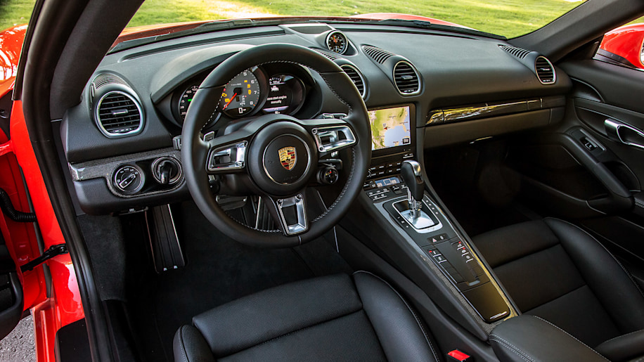 Add Number Subtract Cylinders 2017 Porsche 718 Cayman Quick Spin Autoblog