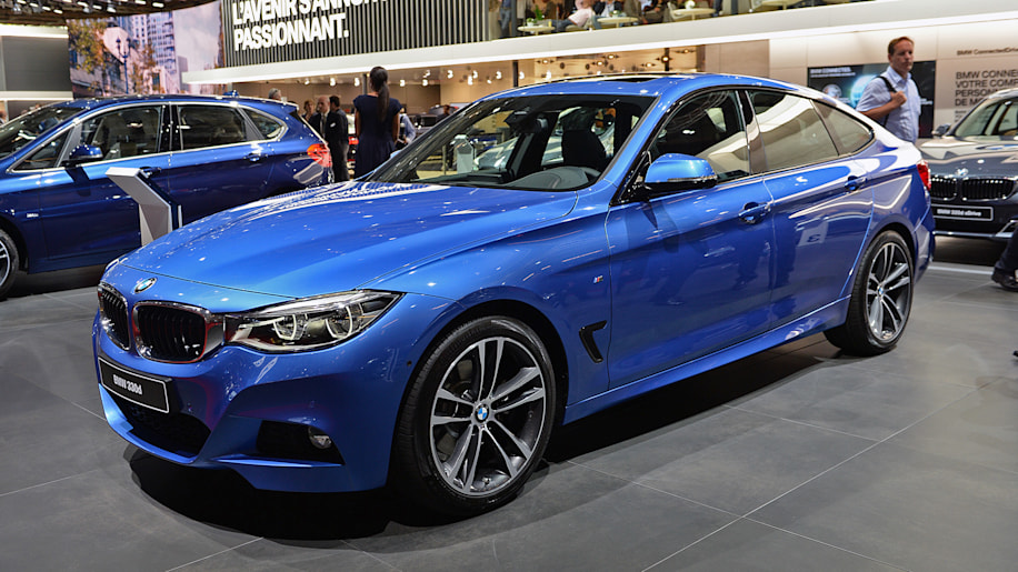 refreshed bmw 3 series gt comes to paris with power bump autoblog. Black Bedroom Furniture Sets. Home Design Ideas