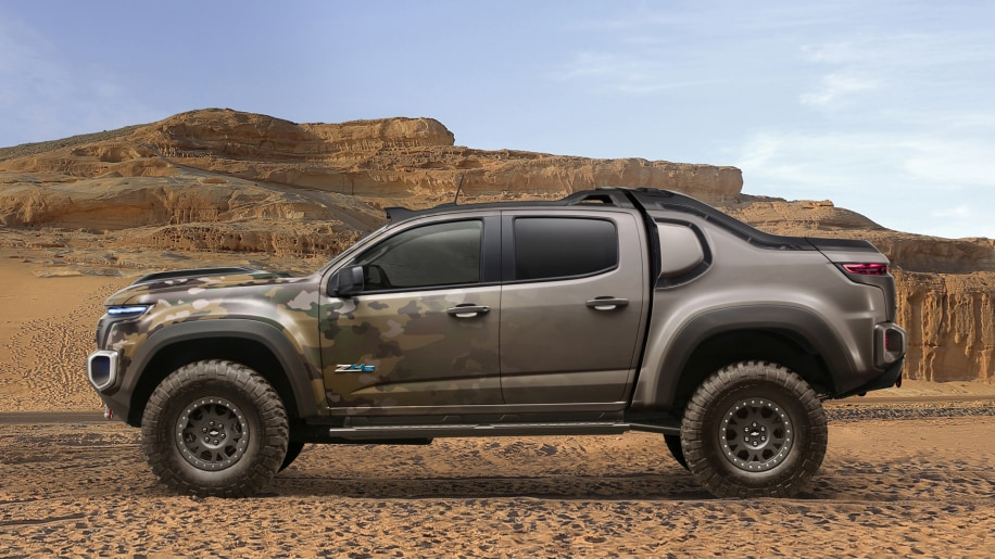 gm us army team up for hydrogen powered chevy colorado autoblog. Black Bedroom Furniture Sets. Home Design Ideas