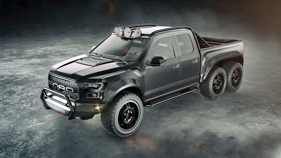 Hennessey Performance VelociRaptor 6X6 Concept Three Quarter Front Exterior
