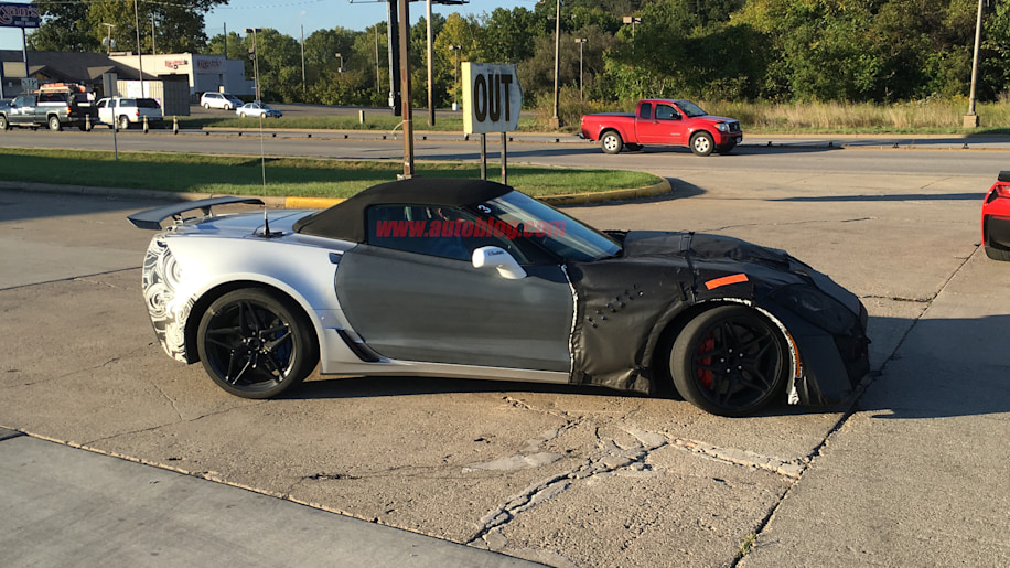 2018 Chevrolet Covette ZR1 convertible