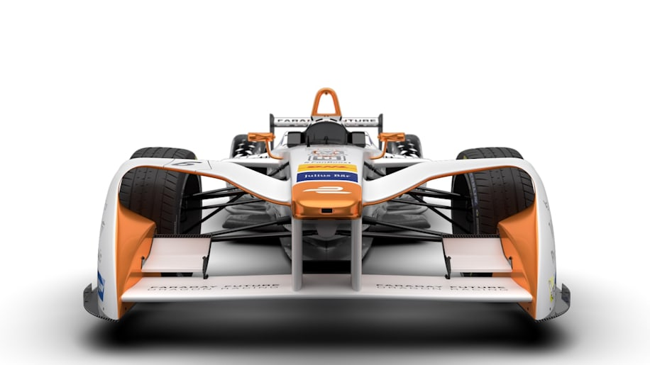 Faraday Future Dragon Racing Formula E Season 3 Livery