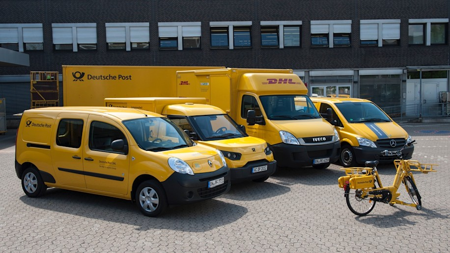 DHL Electric Mail Truck