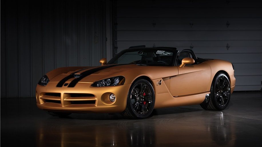 2008 Dodge Viper SRT/10 Hurst  50th Anniversary #2 Convertible