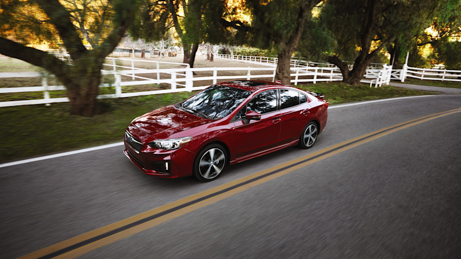 2017 Subaru Impreza Sedan Front Three Quarter
