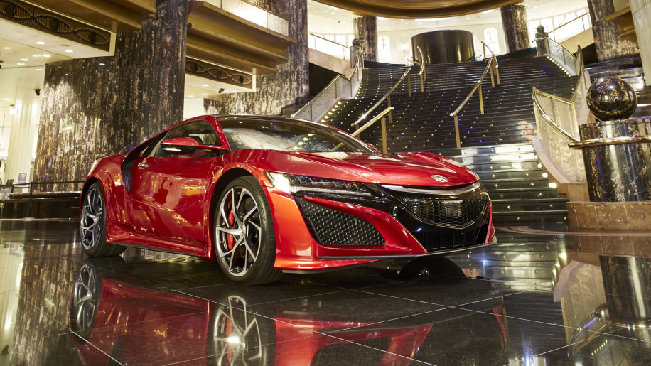 2017 Honda NSX at the Melbourne Crown casino