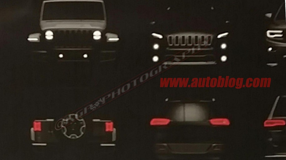 2018 Jeep Wrangler JL Dealer Leak Spy Shots