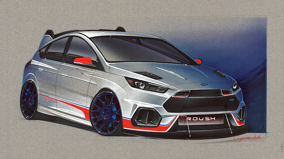 2016 Ford Focus RS by Roush Performance