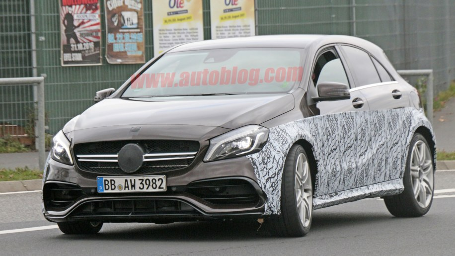 Mercedes-AMG A45 Black Series Spy Shots Front End Exterior