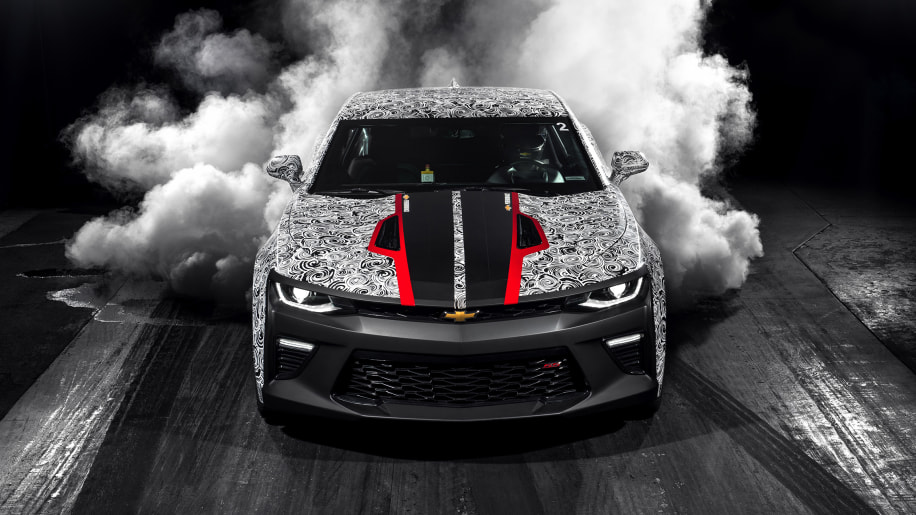 2017 Chevrolet Camaro SS drag racing development car