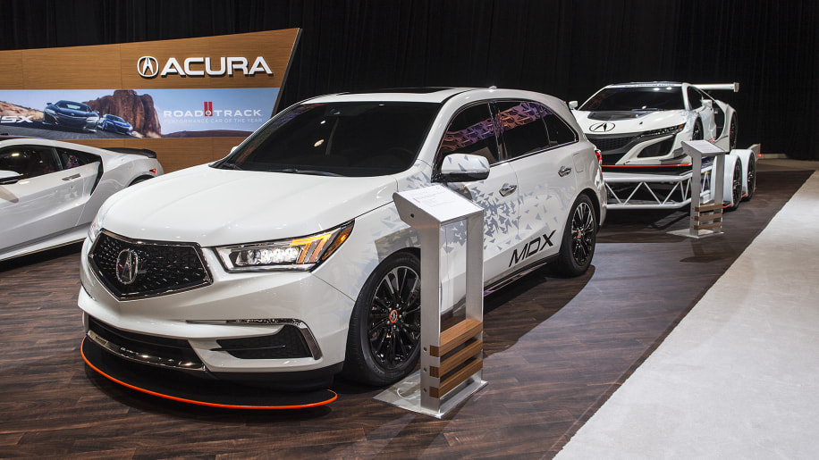 acura s mdx sema concept took the wrong parts from the nsx gt3
