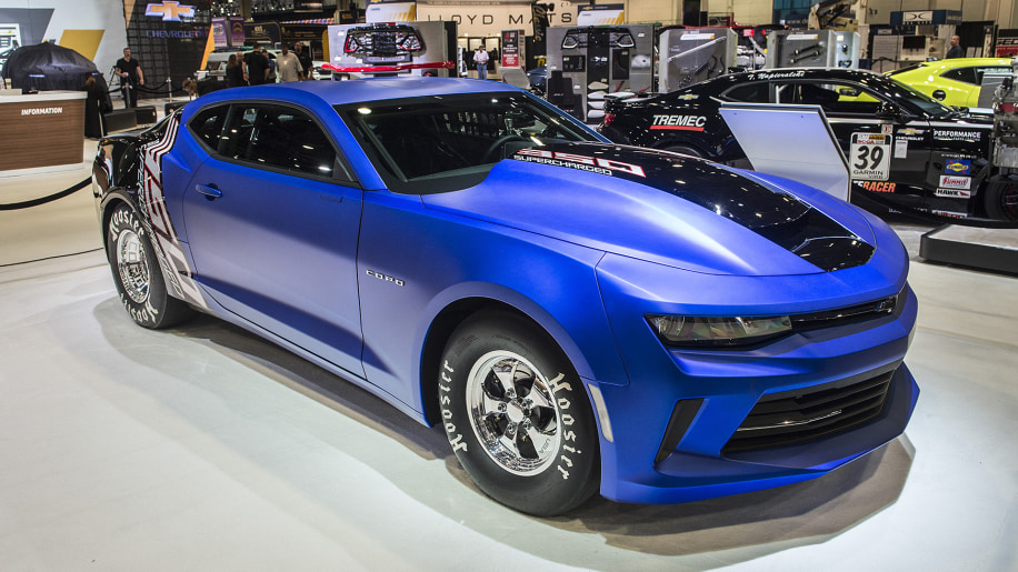 Chevy Camaro Copo And Ss At Sema Only Care About Quarter Mile