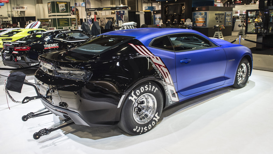 Chevy Camaro COPO and SS at SEMA only care about quarter ...