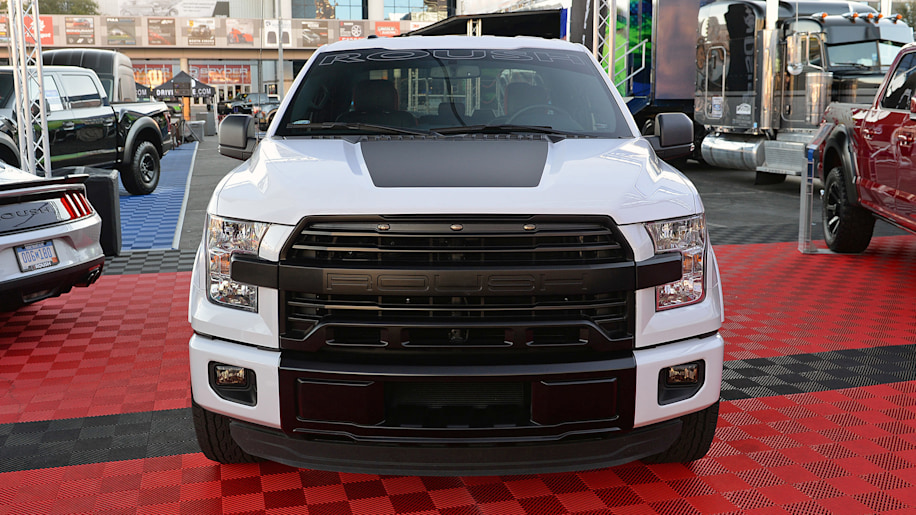 Roush P-51 Mustang returns to SEMA with an F-150 Nitemare - Autoblog
