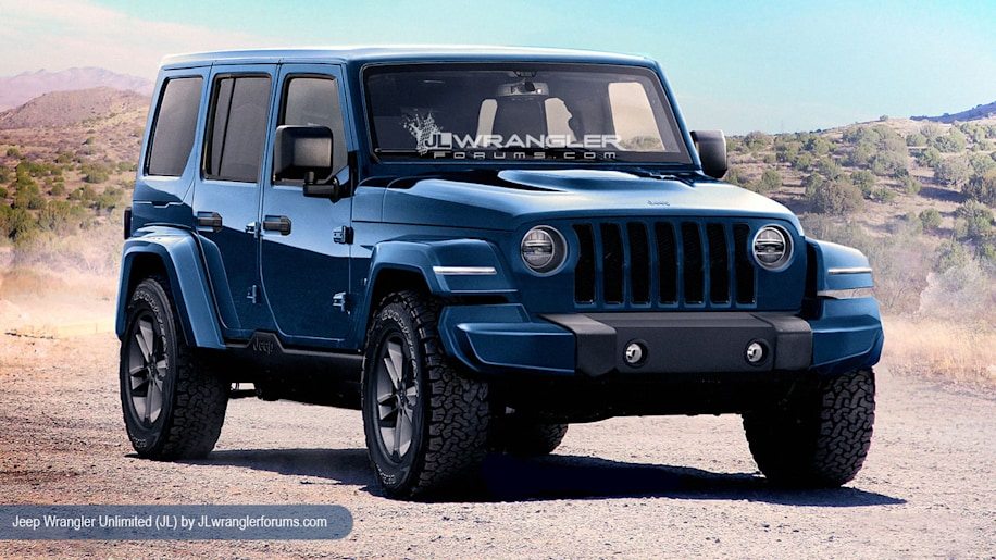 The 2018 Jeep Wrangler Will Look A Lot Like 2017