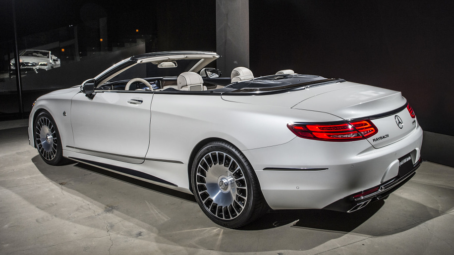 2017 mercedes maybach s650 cabriolet includes guaranteed for Mercedes benz 650