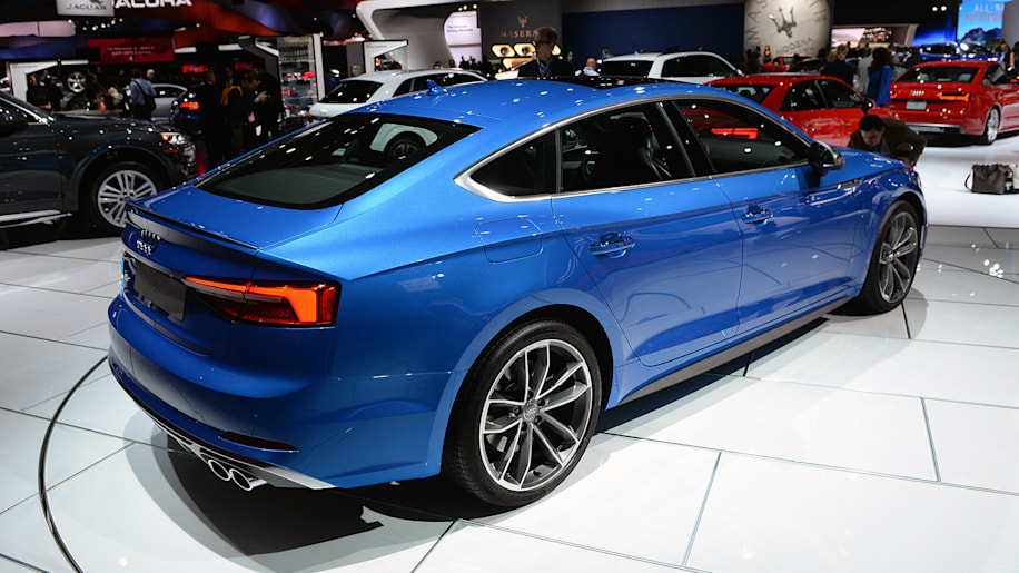 2018 audi a5 and s5 sportbacks are coming to america autoblog. Black Bedroom Furniture Sets. Home Design Ideas