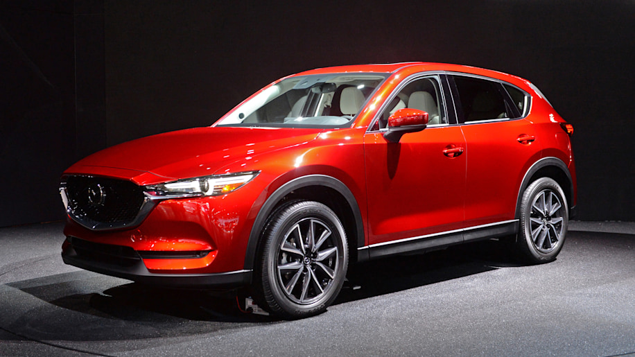 The 2017 Mazda CX-5 is new, and oh so very red - Autoblog
