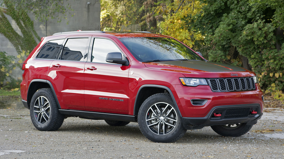 2017 Jeep Grand Cherokee Trailhawk Review Photo Gallery