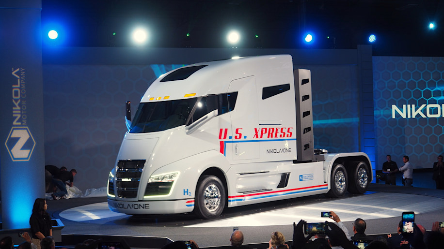 nikola one semi truck