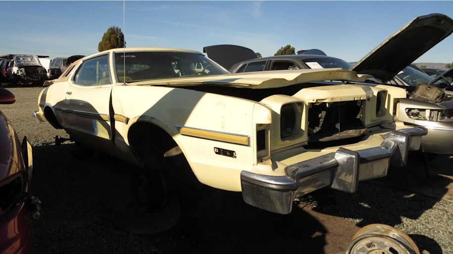 00 1976 ford elite in california wrecking yard photo by muri 1 junkyard gem 1976 ford elite autoblog Ford Wiring Harness Kits at edmiracle.co