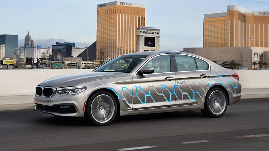 Bmw Brings Its Self Driving Self Parking 5 Series Prototype To Ces Autoblog