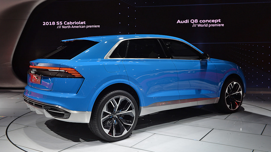 Audi S Q8 Concept Previews A 2018 Personal Luxury