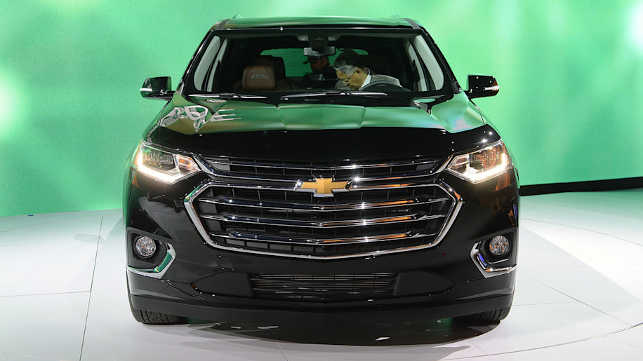 The 2018 Chevy Traverse Is Roomier And Looks Stronger Autoblog