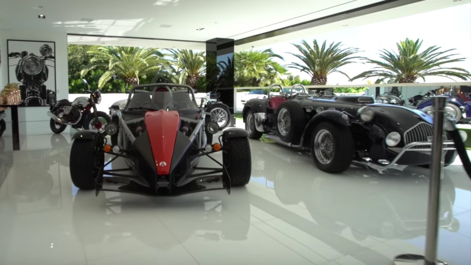 This 250 Million House Comes With Its Own Car Collection