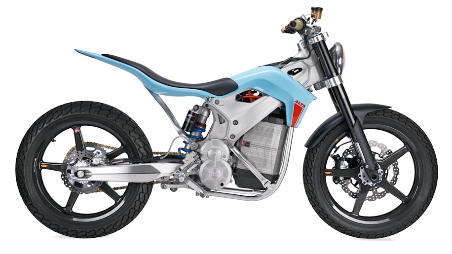 The Alta Motors Redshift St Concept Is A Street Tracker