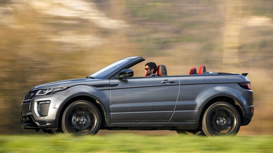 2017 Land Rover Evoque Convertible