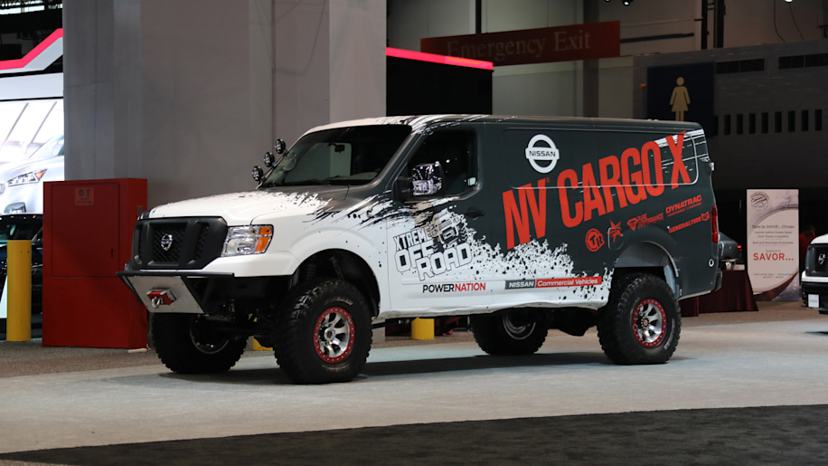 Nissan NV Cargo X Off-Road lead