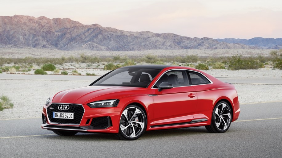 2018 Audi RS5 performance coupe quick spin review - Autoblog
