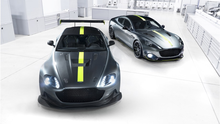 Aston Martin Vantage AMR Pro and Rapide AMR