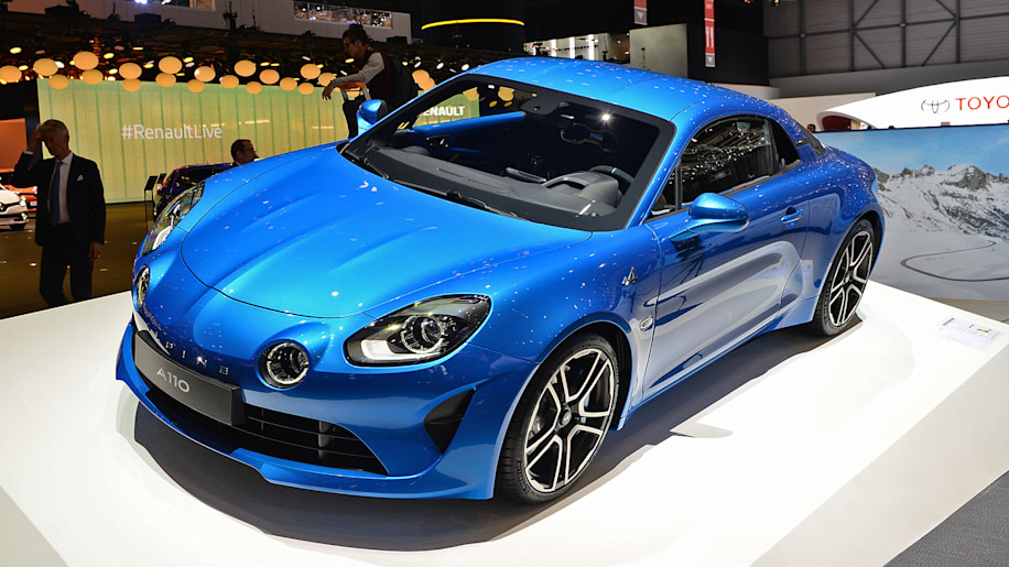 alpine a110 photos show off sultry coupe at geneva motor. Black Bedroom Furniture Sets. Home Design Ideas