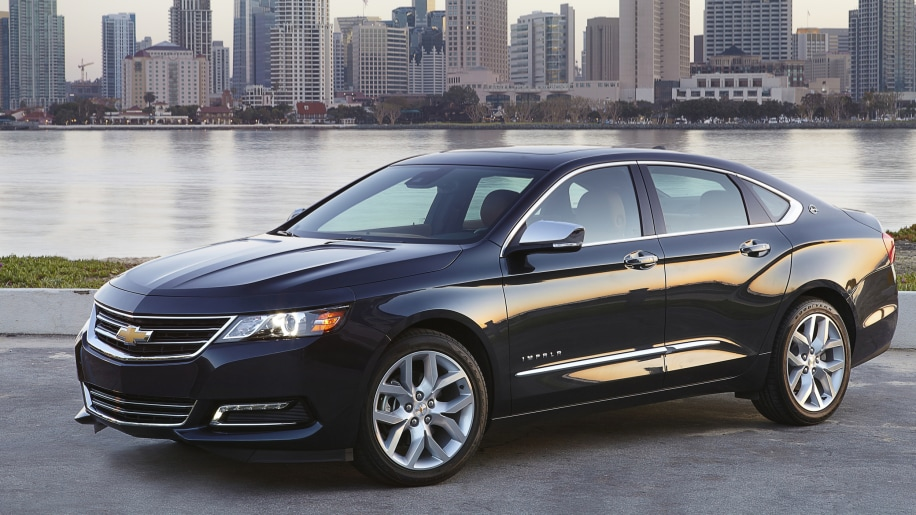 Best Large Car Value: Chevrolet Impala