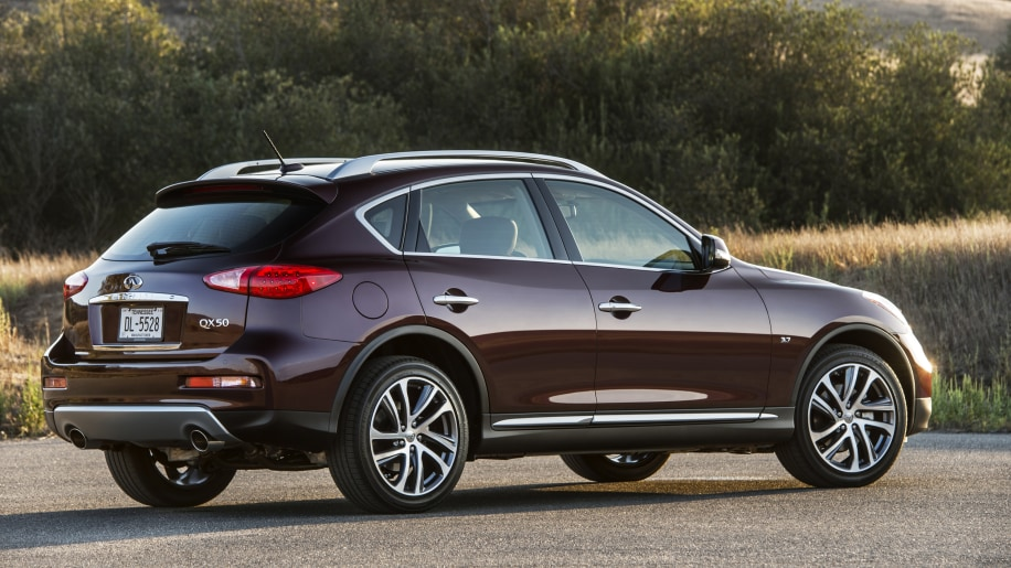 Best Luxury Compact SUV Value: Infiniti QX50