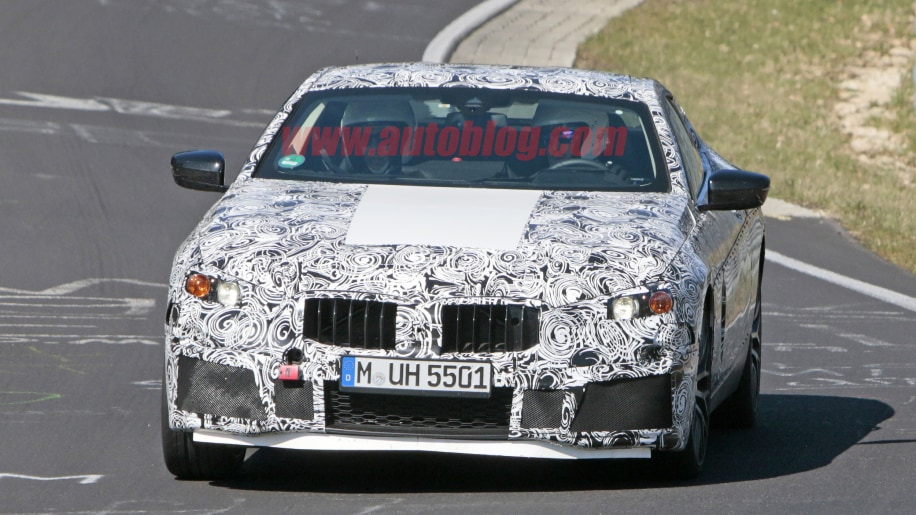 BMW M8 spied gettin' jiggy at the Nurburgring
