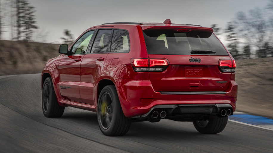 Certified Pre Owned Jeep >> 2018 Jeep Grand Cherokee Trackhawk is more expensive than ...