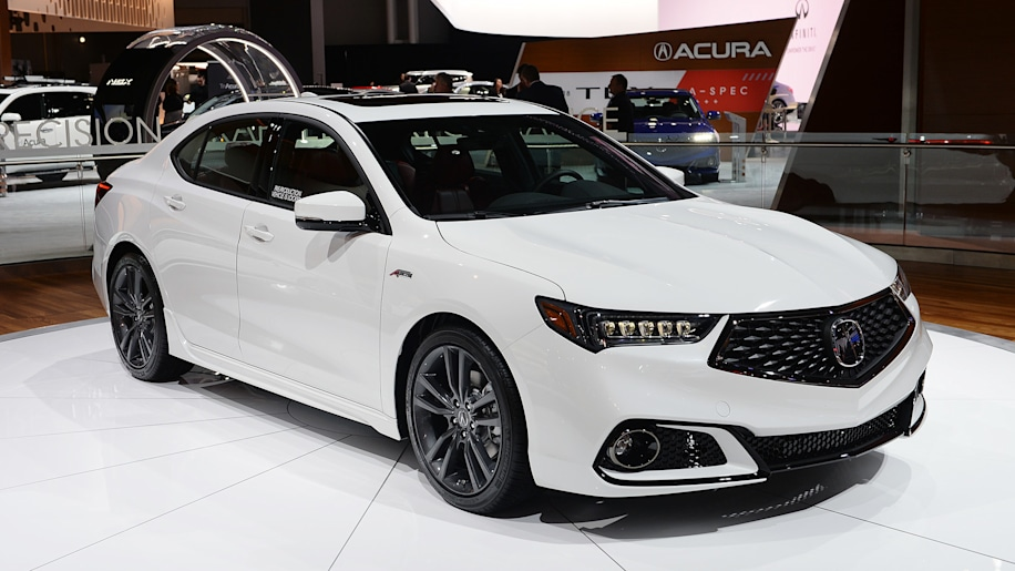 2018 acura tlx gets sporty a spec trim with mid cycle. Black Bedroom Furniture Sets. Home Design Ideas