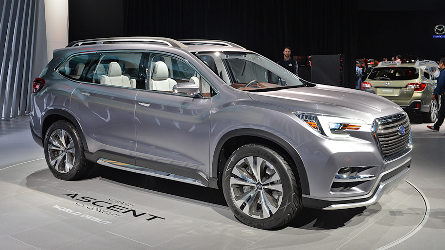 subaru ascent three row suv set for 2018 launch autoblog. Black Bedroom Furniture Sets. Home Design Ideas