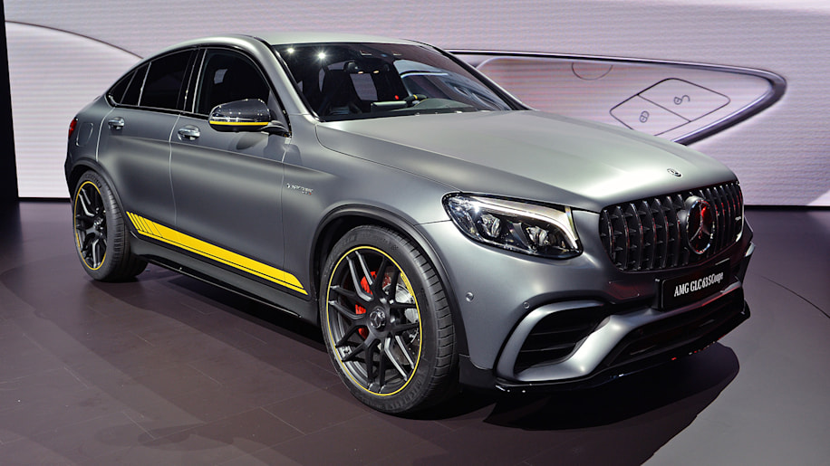 Mercedes Amg Glc63 >> 2018 Mercedes-AMG GLC63 S Coupe: New York 2017 Photo Gallery - Autoblog